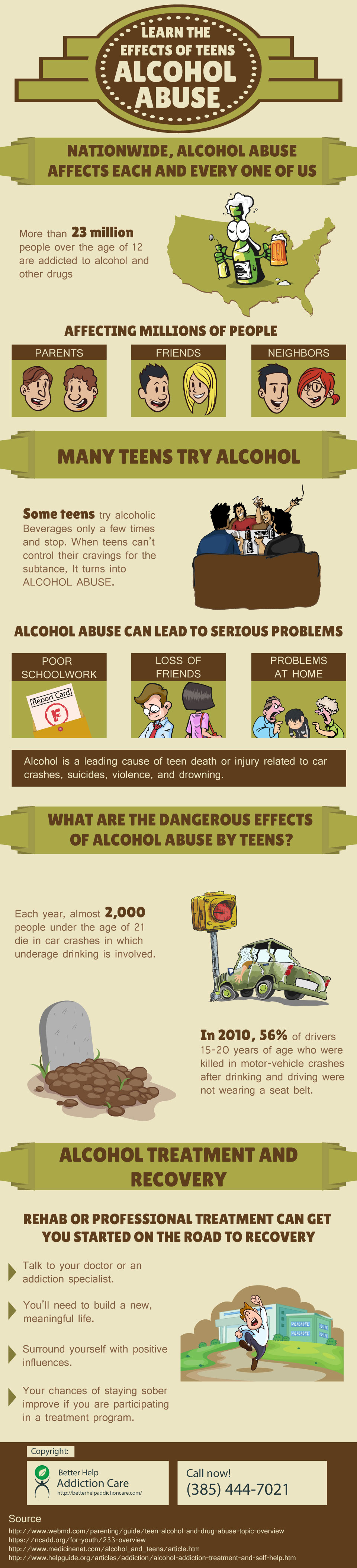 alcohol abuse among teenagers effects