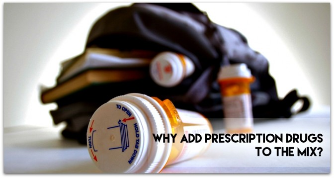 Life is complicated enough Why Add Prescription Drugs to the Mix
