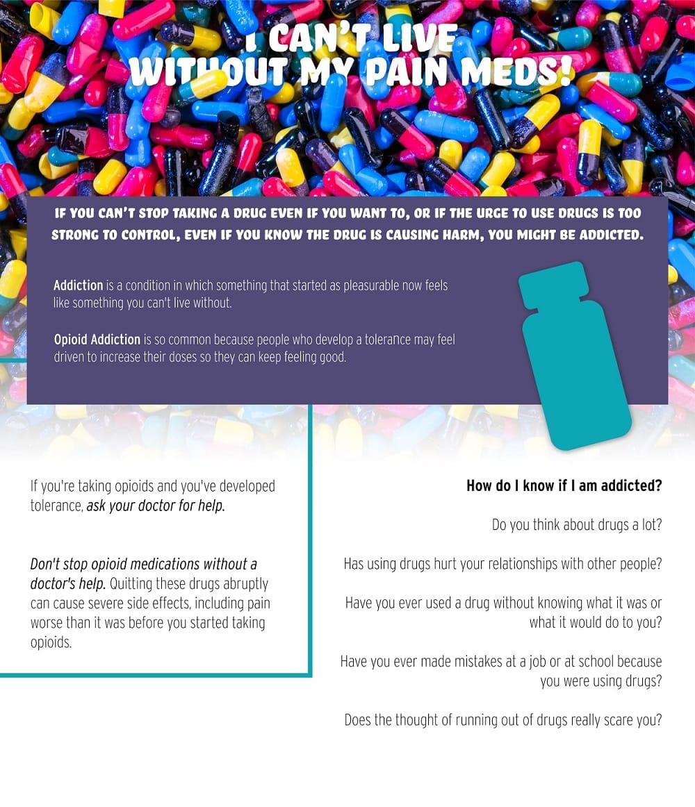 can't live without prescription pain meds