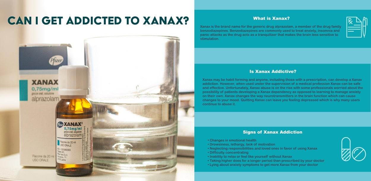 addicted to xanax